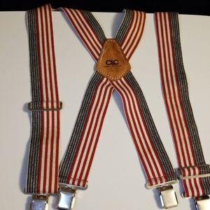 CLC Custom Leathercraft Patriotic Suspenders